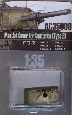 1/35 MANTLET COVER FOR CENTURION (TYPE B)
