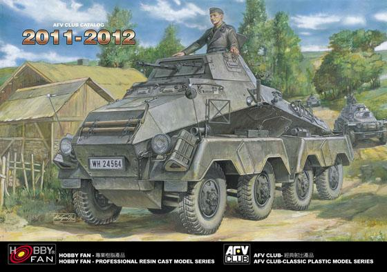 2011-2012 AFV CLUB/HOBBY FAN CATALOG