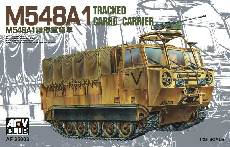 1/35 M548A1 TRACKED CARGO CARRIER