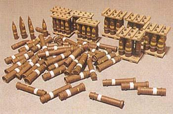 1/35 105/203mm HOWITZER ROUNDS & STOWAGE