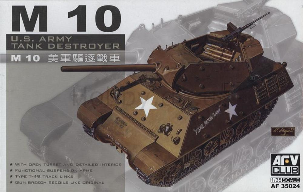 1/35 M10 TANK DESTROYER