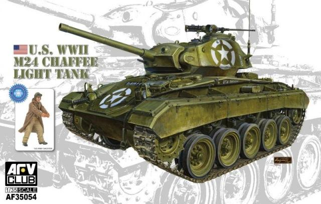 "1/35 U.S. M24 LIGHT TANK ""CHAFFEE"""