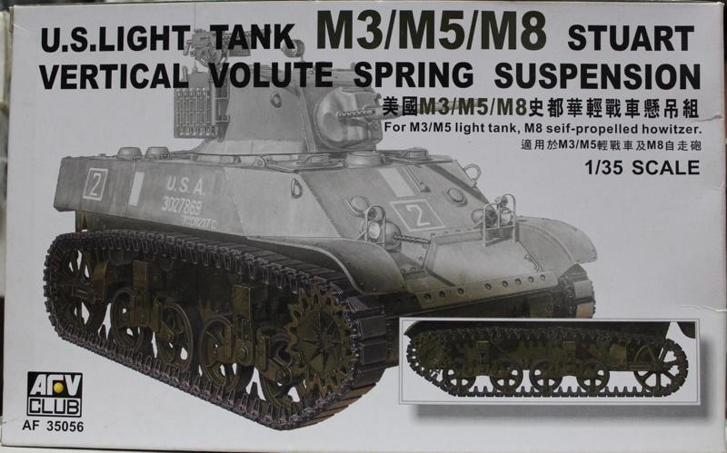 1/35 M3 STUART LIGHT TANK