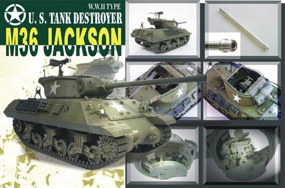 1/35 M36 TANK DESTROYER- JACKSON