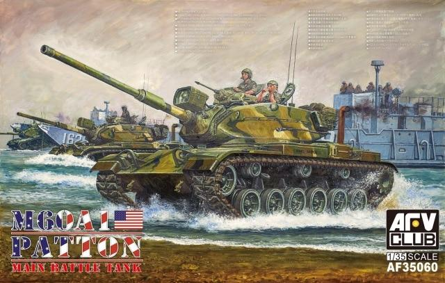 1/35 M60A1 PATTON MAIN BATTLE TANK