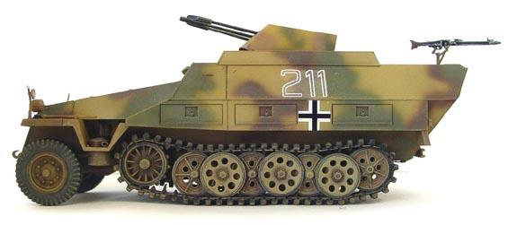 1/35 SD.KFZ. 251/21 AUSF.D DRILLING