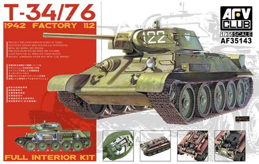 1/35 T-34/76 1942 FACTORY 112