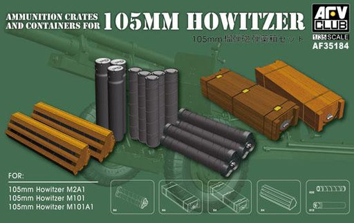 1/35 AMMUNITION CATES & CONTAINERS FOR 105MM HOWITZER