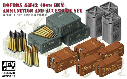 1/35 BOFORS & M42 40MM GUN AMMO & ACCESSORIES SET