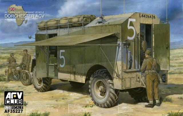 1/35 AEC ARMOURED COMMAND VEHICLE DORCHESTER ACV