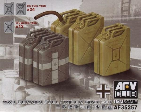 1/35 GERMAN WWII 20L JERRYCANS SET