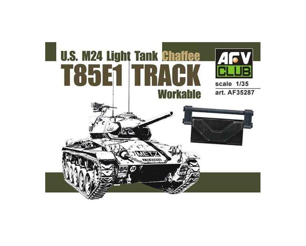 1/35 T85E1 TRACK FOR U.S. M24 LIGHT TANK (WORKABLE)