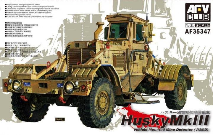 1/35 HUSKY VEHICLE MOUNTED MINE DETECTOR MKIII