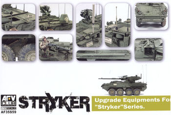 "1/35 UPGREAD EQUIPMENTS FOR ""STRYKER"" SERIES"
