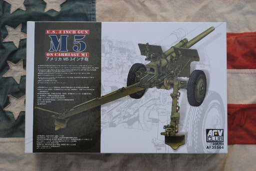 "1/35 3"" GUN M5 ON CARRIAGE M1 (LIMITED ED)"