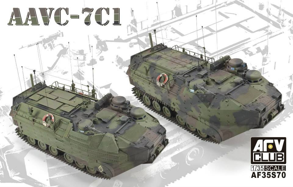 1/35 AAVC-7C1 9ASSAULT AMPHIBIAN VEHICLE COMMAND MODEL 7C1)