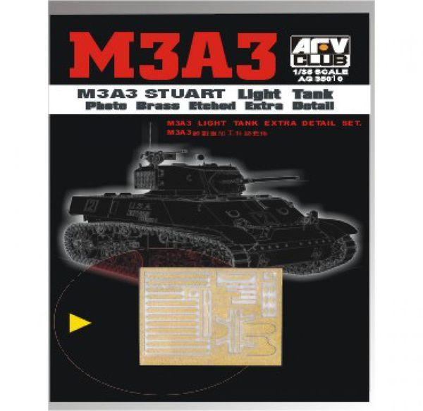 1/35 M3A3 ETCHING PARTS
