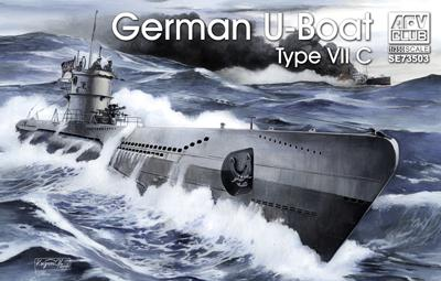 1/350 GERMAN U-BOAT TYPE VII/C