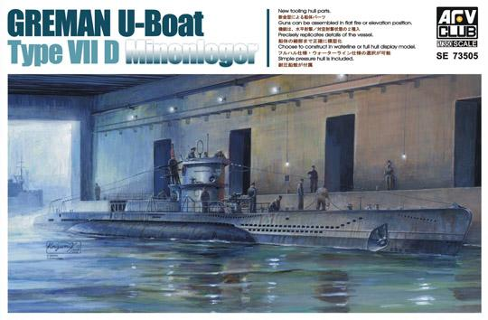 1/350 GERMAN U-BOAT VII/D (U-213)
