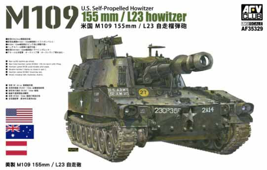 1/35 M109 155mm / L23 HOWITZER BY AFV CLUB
