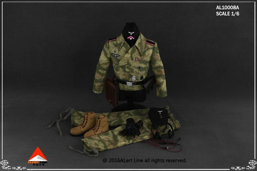 1/6 WWII WEHRMACHT TANK CREW OVERALL SET A