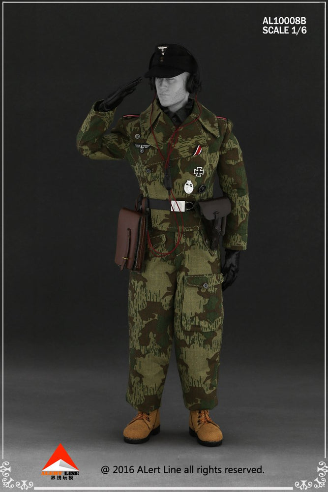 1/6 WWII WEHRMACHT TANK CREW OVERALL SET B