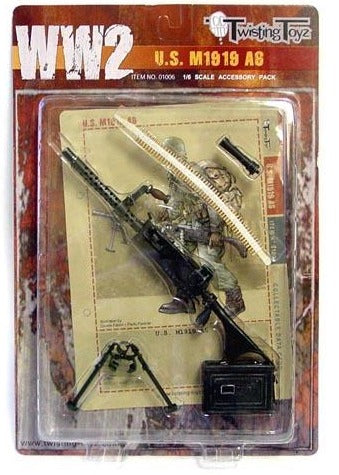 1/6 WWII US M1919A6