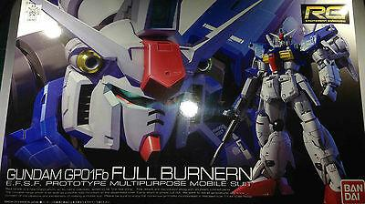 1/144 RG GUNDAM GPO1Fb FULL BURNERN