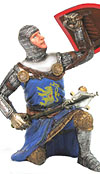 "90MM MEDIEVAL KNIGHT ""CRUSADER ARCHER"""