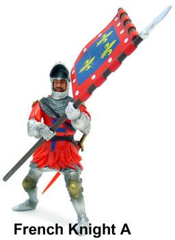 90MM 100 YRS WAR FRENCH KNIGHT A