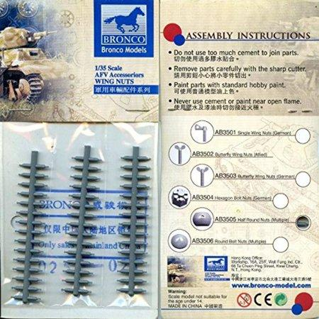 1/35 HALF ROUND BOLT NUTS (GENERAL PURPOSE)