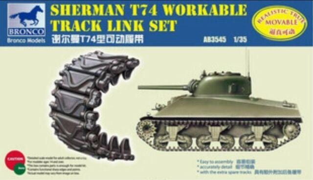 1/35 SHERMAN T74 WORKABLE TRACK LINK SET