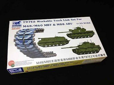 1/35 T97E WORKABLE TRACK LINK SET FOR M48/M60 MBT & M88 ARV