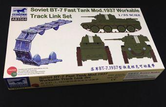 1/35 SOVIET BT-7 FAST TANK MOD 1937 WORKABLE TRACK LINK SET