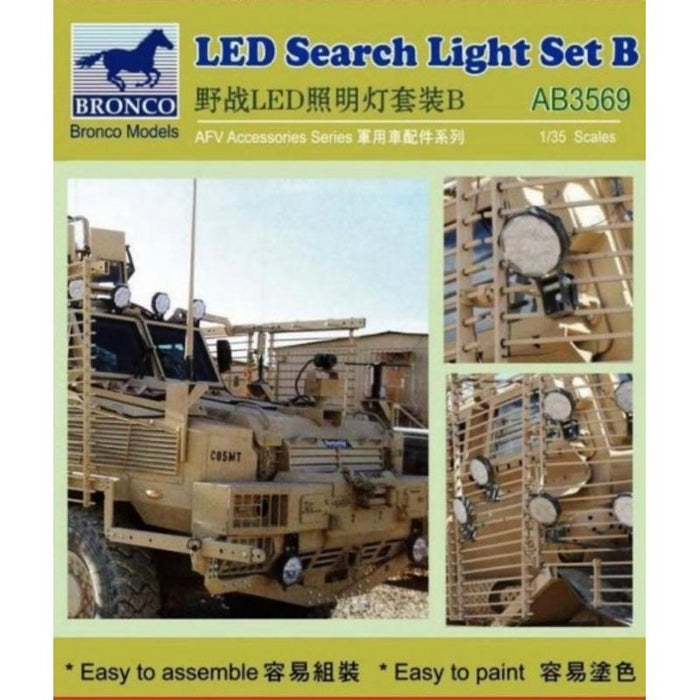 1/35 LED SEARCH LIGHT SET B