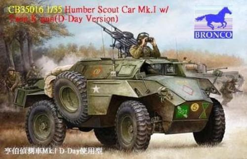 1/35 HUMBER SCOUT CAR MK.I W/TWIN K-GUN (D-DAY VERSION)