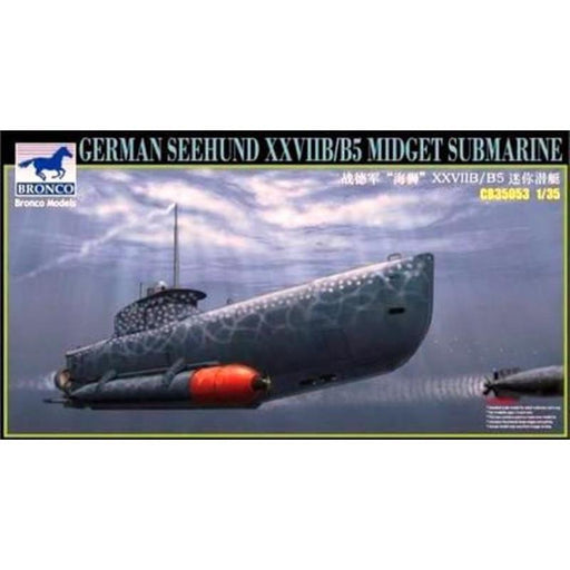 1/35 GERMAN 'SEEHUND' XXVII B/B5 MIDGET SUBMARINE (2 OPTIONS