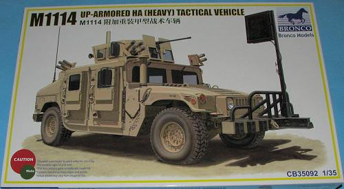 1/35 M1114 UP-ARMOURED HA (HEAVY) TACTICAL VEHICLE