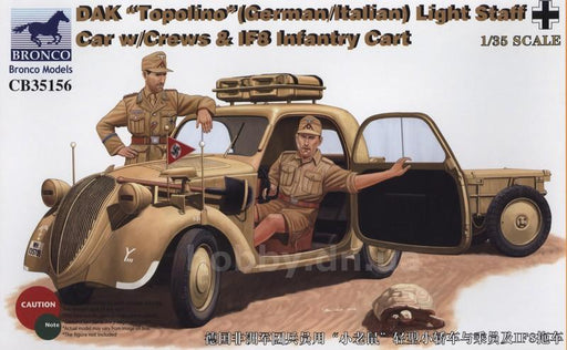 1/35 DAK 'TOPOLINO' (GERMANITALIAN) LIGHT STAFF CAR