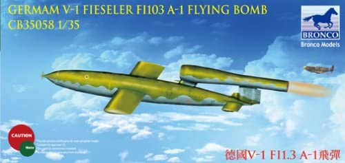 1/35 GERMAN V-1 FIESELER Fi103 A-1 FLYING BOMB BRONCO MODELS CB35058