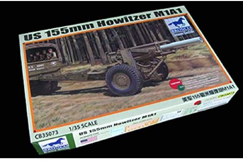 1/35 US M1A1 155mm HOWITZER (WWII) BRONCO MODELS CB35073