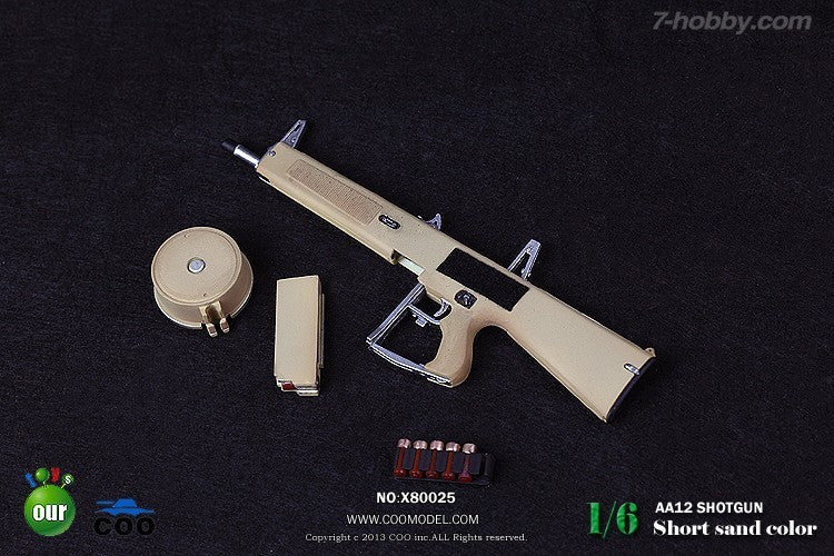 1/6 SNIPER RIFLE SERIES-AA12 (SHORT-SAND)
