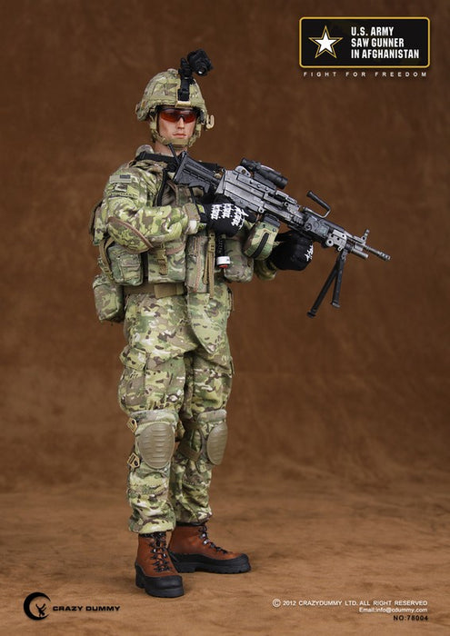 1/6 U.S. ARMY SAW GUNNER IN AFGHANISTAN