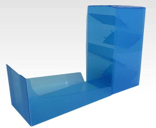DICE TOWER (GAME CARD HOLDER) - CLEAR BLUE