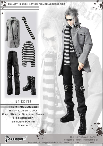 1/6 MALE TRENDY OUTFIT