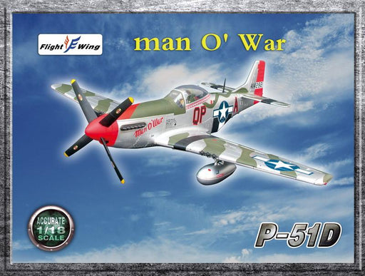"1/18 WWII USAF, 4th FIGHTER GROUP ""MAN O'WAR"""