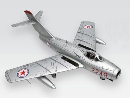 "1/18 ""WANG HAI"" PLAAF 3RD FLIGHTER DIV., KOREA 1956"