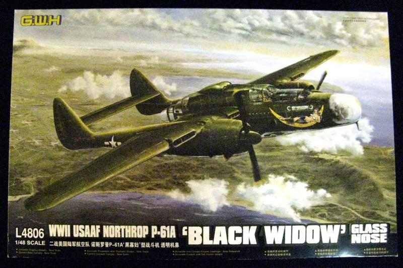 1/48 WWII USAAF NORTHROP P-61A 'BLACK WIDOW' GLASS NOSE
