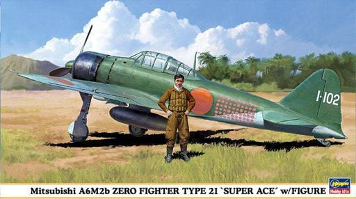 "1/48 ZERO TYPE 21 ""SUPER ACE"""
