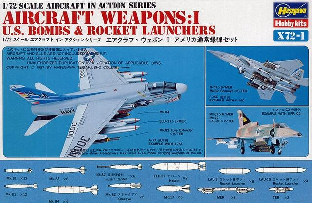 1/72 US AIRCRAFT WEAPONS I